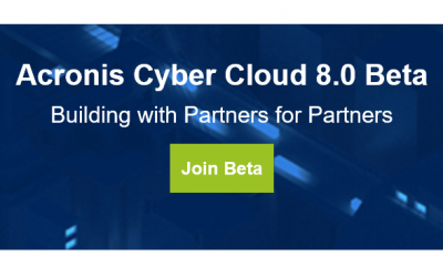 Acronis Cyber Cloud 8.0 Beta
