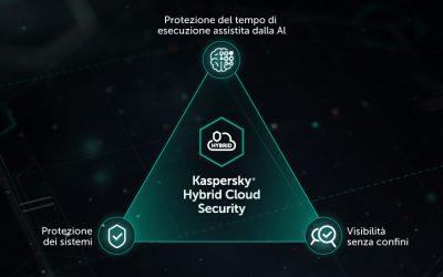 Kaspersky Hybrid Cloud Security semplifica l'implementazione su larga scala della protezione per la virtualizzazione