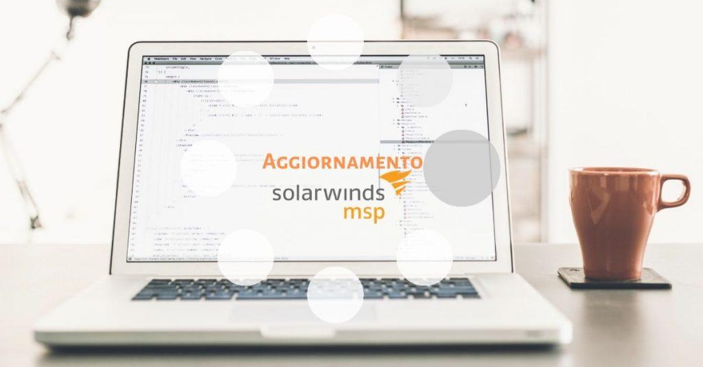 Aggiornamento SolarWinds RMM