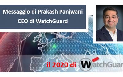Messaggio di Prakash Panjwani, CEO di WatchGuard