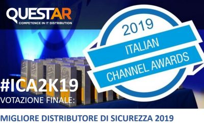 Questar in nomination agli Italian Channel Awards