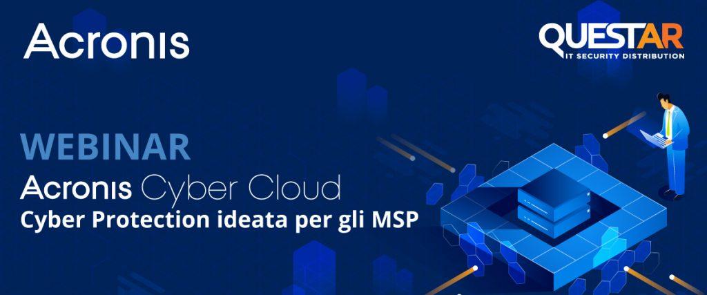 ACRONIS Cyber-Cloud Webinar