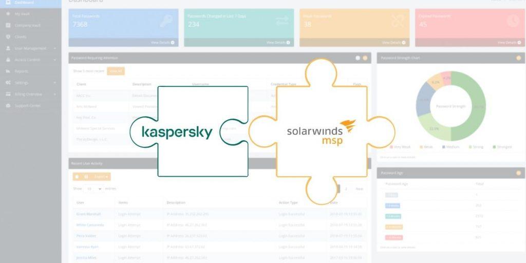 Integrazione Kaspersky SolarWinds