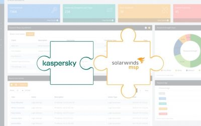 Integrazione Kaspersky SolarWinds per proteggere gli MSP